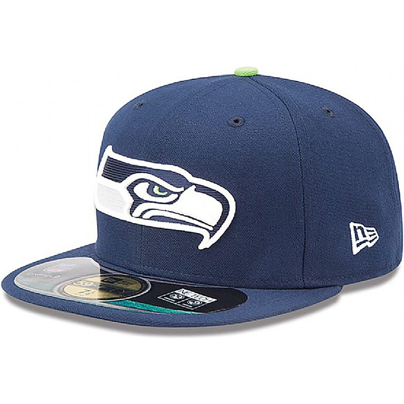 new-era-flat-brim-59fifty-authentic-on-field-game-seattle-seahawks-nfl-blue-fitted-cap